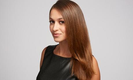 Keratin treatment gives hair a glowing finish