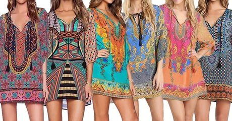 Kaftan Beach Dress