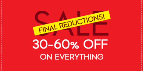 Kipling Final Reduction sale