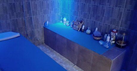 Moroccan Bath with Scrub