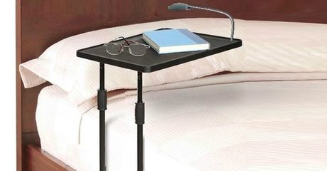 Multi-Purpose Bedside Table