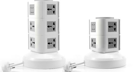 Multi-Socket Power Strip With USB