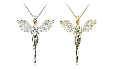 Necklace with Swarovski Crystals