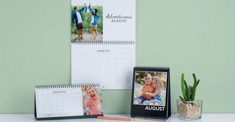 Personalised Wall/Desk Calendars