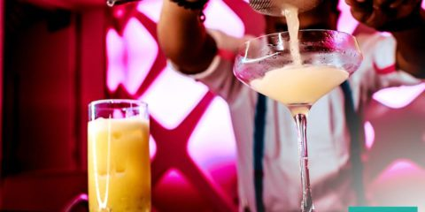 Pure Sky Lounge Ladies Tuesday coctail night Offer