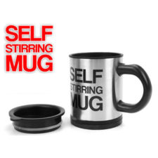 Self Stirring  Double Insulated Coffee Mug - 400ml