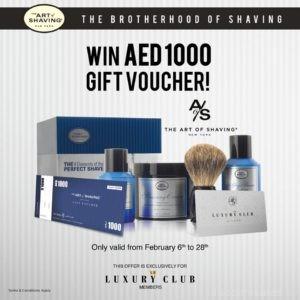 Win AED 1000 Gift Voucher