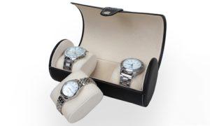 Three-Pieces Travel Watch Case