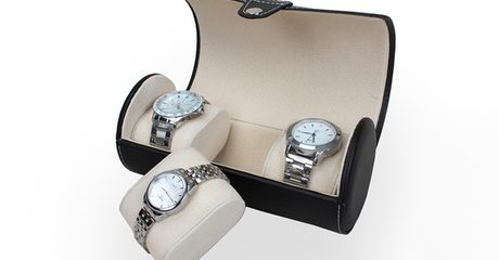 Three-Pieces Travel Watch Case