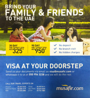 Easy Online UAE Tourist Visa