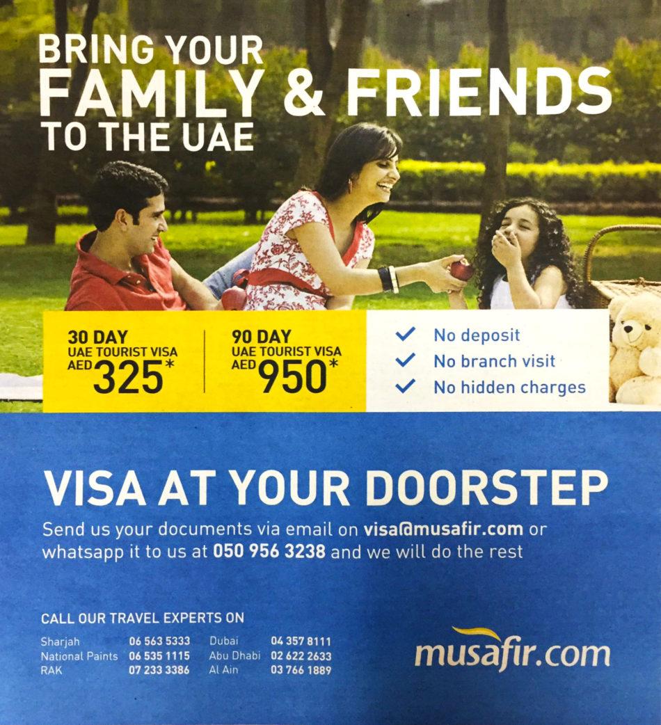 Easy Online UAE Tourist Visa
