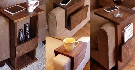 Wooden Sofa Arm Trays