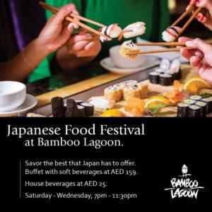 Bamboo Lagoon Japanese Food Festival