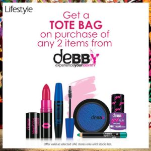 FREE Tote Bag on Purchase of any 2 items from Debby