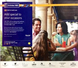 Emirates NBD Debit & Credit Card Special Offers