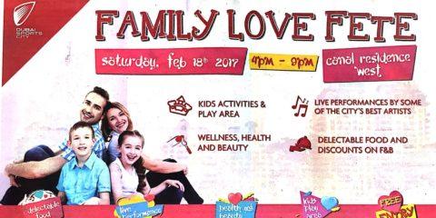 Dubai Sports City Family Love Fete Event