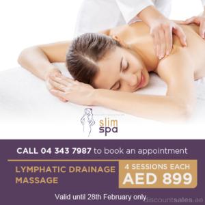 Slim Spa Lymphatic Drainage Massage February Offer
