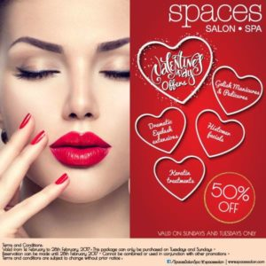 Space Salon Valentines Exclusive Offer