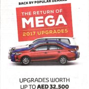 Toyota Mega 2017 Upgrades
