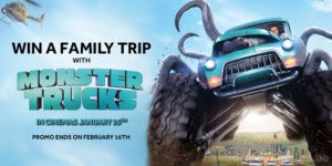 Win a Family Trip with Monster Trucks