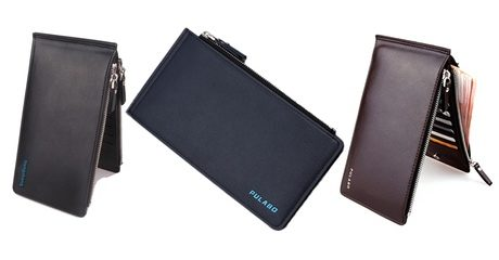 17-Slot Credit Card Holder Wallet