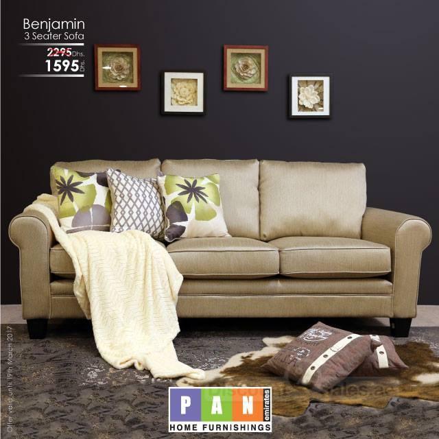 BENJAMIN 3 Seater Sofa Special Offer
