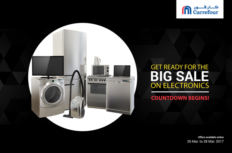Electronics Big Sale Offer @ Carrefour
