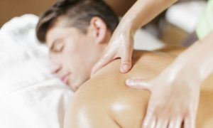 Male customers can be pampered with a choice of spa treatments including facials