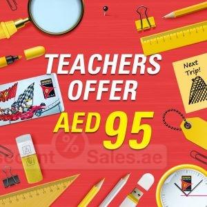 Ferrari World Teachers Special Offer