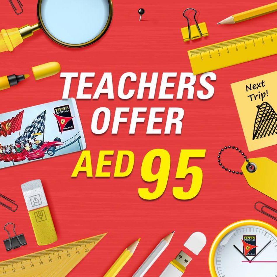 Ferrari World Abu Dhabi Teachers Special Offer Tiket Bronze
