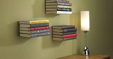 Floating Bookshelf Bracket