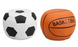 Football or Basketball Poufs