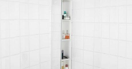 Four-Tier Bathroom Shelf