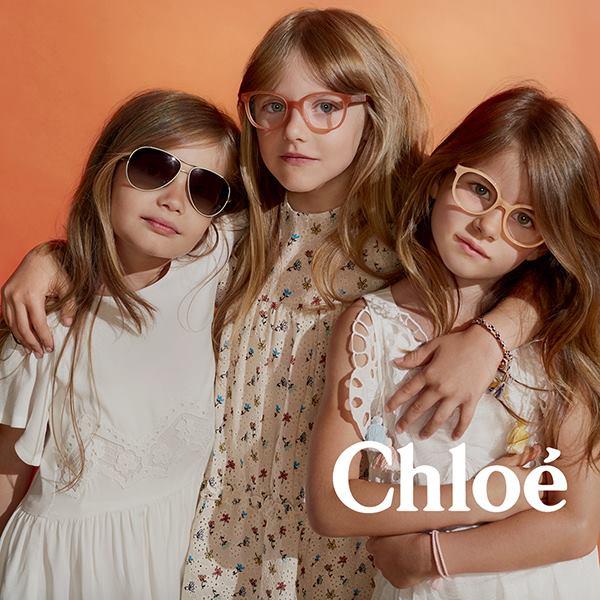 Grand Optics Chloé Little Girls eye-wear collection