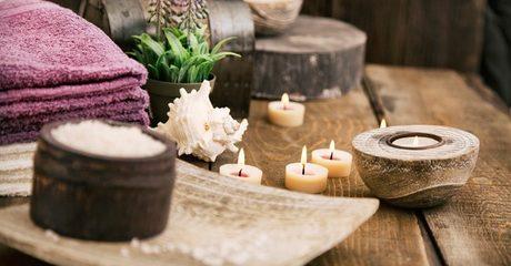 Beauty buffs can unwind in a herbal Moroccan bath