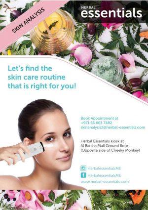 Herbal Essentials Skin Analysis