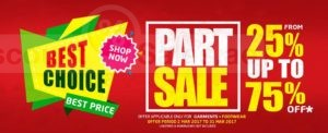 Kenz Hypermarket Part Sale Promo