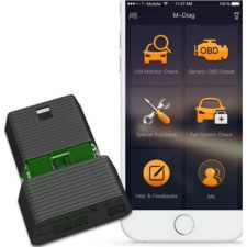 Launch M-Diag Plus OBD2 Auto Full System Diagnostic Bluetooth for iOS - Android