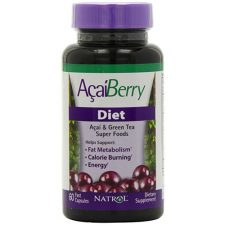Natrol Acai Berry Diet Weight Loss 60 Capsules