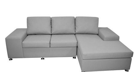 PU Leather Corner L-Shape Sofa