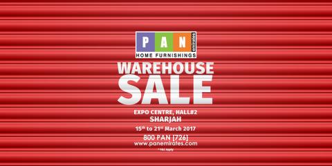 PAN Emirates Warehouse Sale
