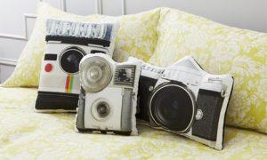 Retro-Style Cushions