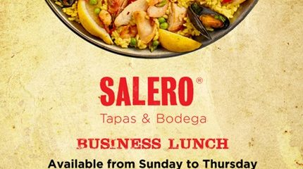 Salero Business Lunch Special Offer