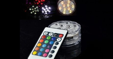 Submersible Multi-Colour LED Lights