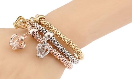 Triple Charm Bracelets