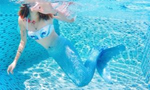 Women's Mermaid Style Swimsuit