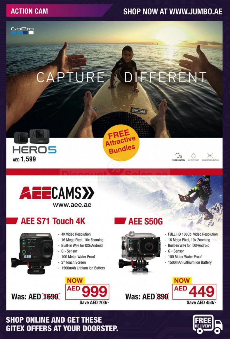 Action camera bundle offers jumbo online store discount sales special - Jumbo mobel discount ...