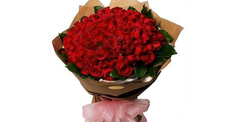 12-200 Red Roses Bouquet