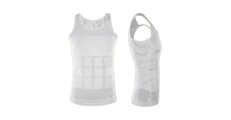 2 Men's Slimming-Effect Vests