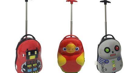 ABS Kids Travel Trolley Bags